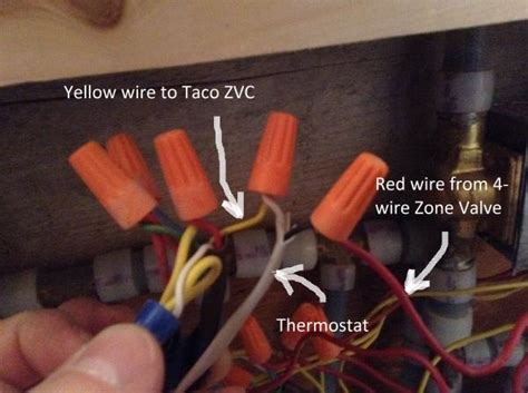 Need Help Wiring Zone Valve Taco Zvc Doityourself