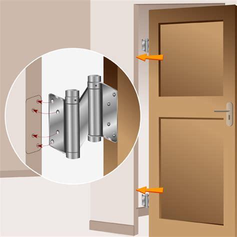 porte battante cuisine installer une porte battante porte