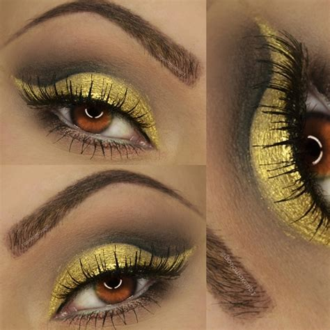 delicate gold makeup tutorial glam express