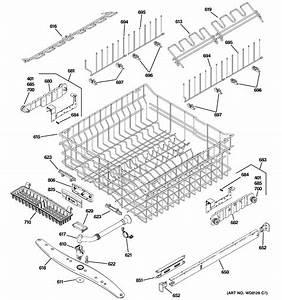 Upper Rack Assembly Diagram  U0026 Parts List For Model
