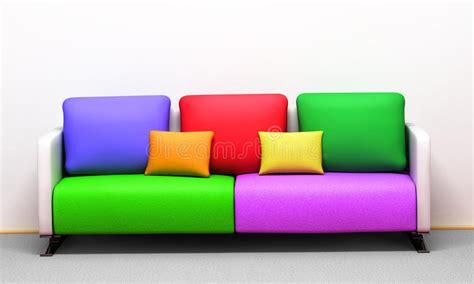 Cuscini Colorati Cuscini Colorati Illustrazione Di Stock Illustrazione Di