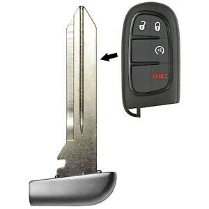 remote smart prox fobik emergency key fob replacement blade insert tombstone ebay