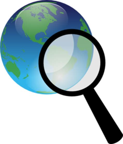 search clipart earth search clip at clker vector clip