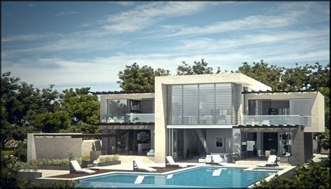 Modern Villa Brings Elegance To Ibiza by Modern Villa Elevation Studio Design Gallery Best