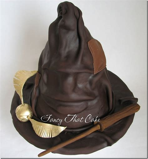 harry potters sorting hat cake