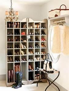 Casier A Chaussure : meuble de rangement pour l 39 entr e en 35 id es magnifiques ~ Nature-et-papiers.com Idées de Décoration