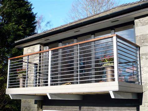 Balcony With Steel Railings
