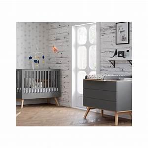 Table A Langer Grise : commode nature grise avec plan langer amovible de la marque vox ~ Teatrodelosmanantiales.com Idées de Décoration