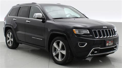 black jeep cherokee 2016 2016 jeep grand cherokee overland 4wd by ride time