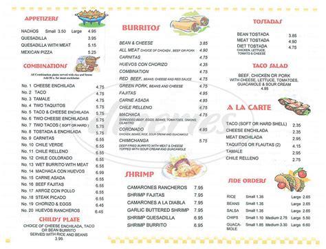 cuisine menu list antonio 39 s food menu anaheim dineries