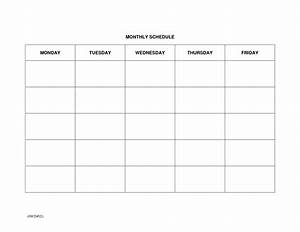 Take Large Blank Monthly Calendar Template  U22c6 The Best