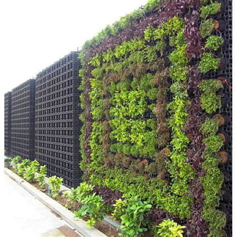 plastic decorative vertical garden   small plants