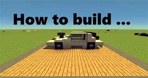 minecraft muscle car how to build muscle car minecraft project