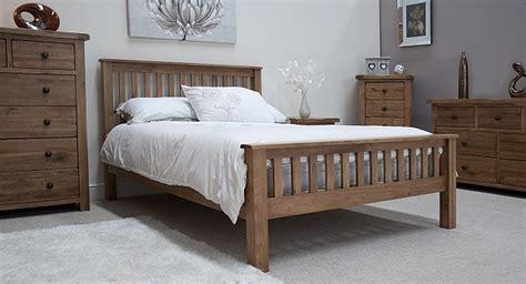 tilson solid rustic oak bedroom furniture  king size bed