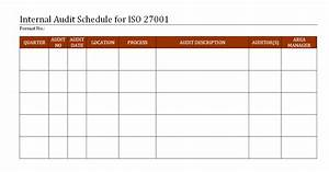 wonderful iso 27001 templates images resume ideas www With internal audit schedule template