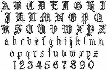 Tattoo Font English Generator Lettering Idealistic Letter