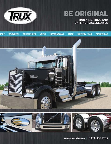 kenworth accessories catalog trux accessories 2013 catalog by trux accessories issuu