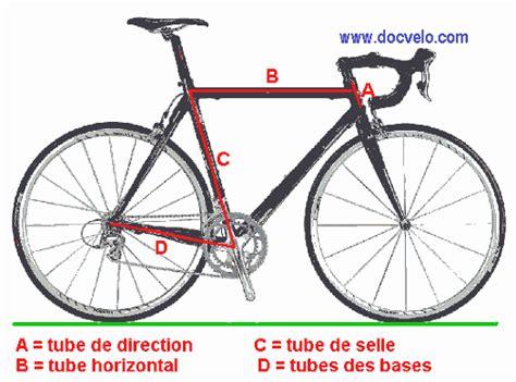 mesure cadre velo route docvelo geometrie des cadres de bicyclettes