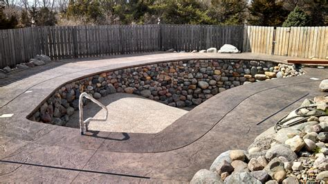 Deck Omaha Menu by Sted Concrete Residential Pool Deck Schroder