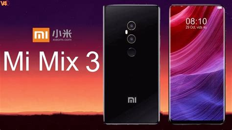 xiaomi mi mix 3 comes with snapdragon 835 chipset