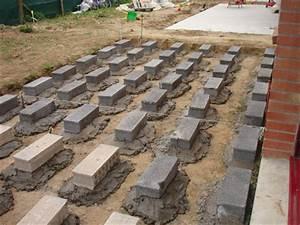 Pose Terrasse Bois Sur Terre : construire une terasse en composite 14 messages ~ Melissatoandfro.com Idées de Décoration