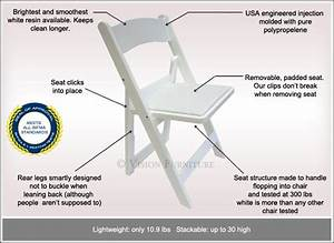 White Folding Chairs Made In Usa