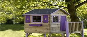Grande Cabane Enfant : la cabane en bois dans le jardin les enfants adorent ~ Melissatoandfro.com Idées de Décoration