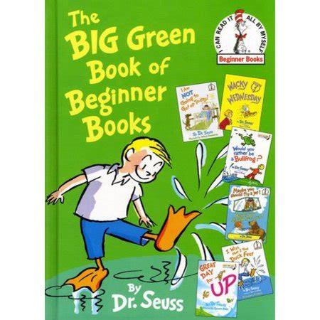 The Big Green Book Of Beginner Books Walmartcom
