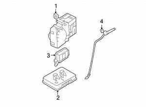 Hyundai Sonata Fuse Box  Cabin  Manual Trans