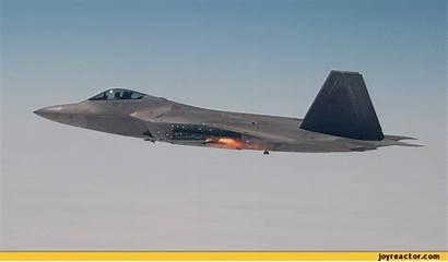 Missile F22 Firing Gifs Raptor Animate Fighter