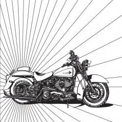 harley motorcycle coloring page free adult coloring