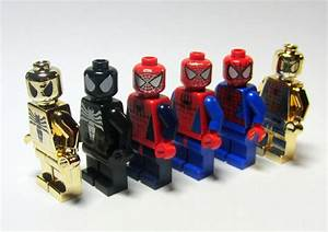 Pics For > Anti Venom Spiderman Lego