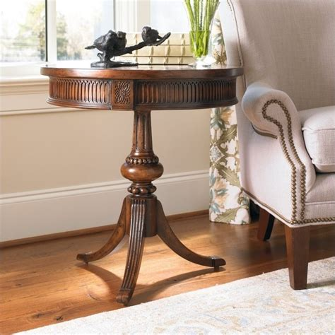 hooker seven seas desk hooker furniture seven seas round pedestal accent table