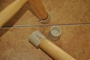 must be a better way to protect chair legs on tile floors With chair leg pads ace hardware