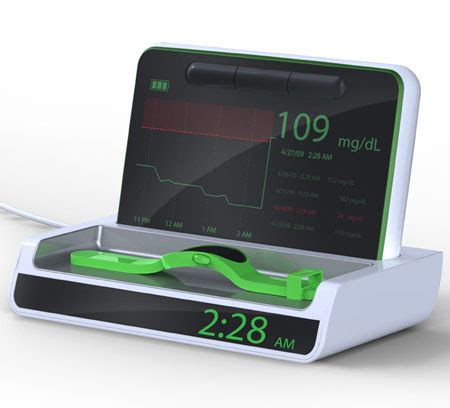 Sleep Well Wireless Blood Glucose Monitoring Device
