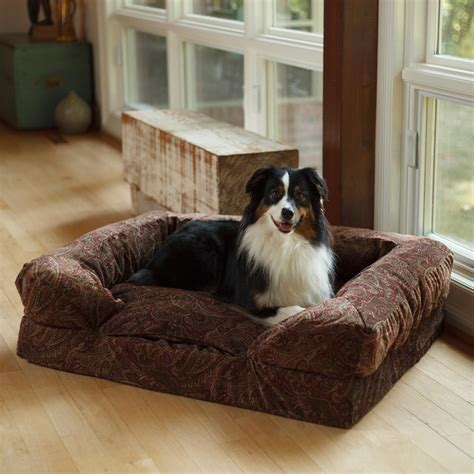 dog beds for the sofa snoozer overstuffed sofa pet bed snoozer overstuffed