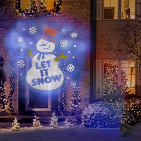 holiday outdoor projector at menards 174