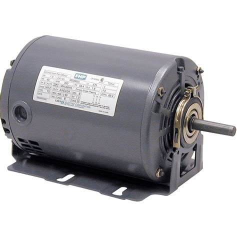 1 3 hp attic fan motor leeson fan and blower electric motor 1 3 hp 1725 rpm