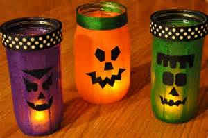 Primitive Decorating Ideas For Fall by Homemade Halloween Decor 13 Empty Milk Jug Luminaries