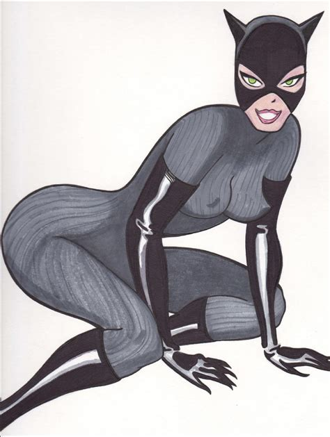 catwoman  animated series  thomaschasewhitney