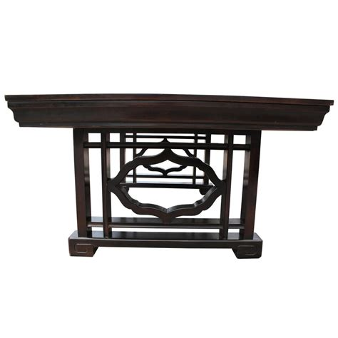 dining room table with drawers elegant widdicomb dining table with service drawers for