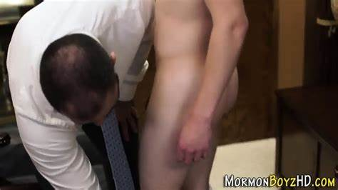 Mormon Twink Spied And Pounded