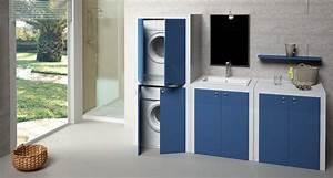 Mobile lavatrice e asciugatrice Sovrapporli o affiancarli
