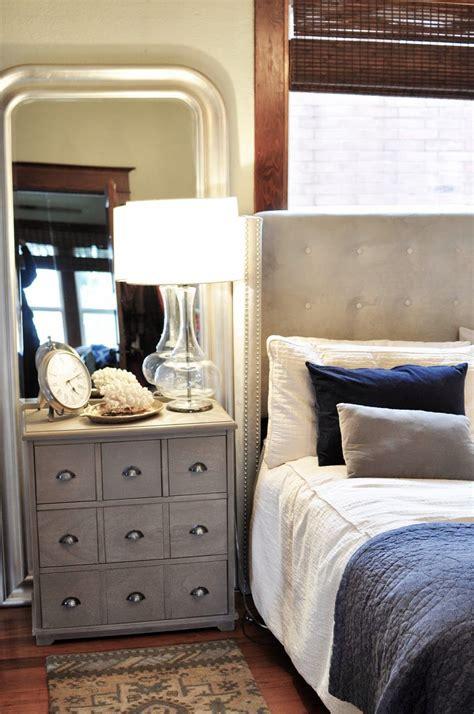 master bedroomthresholdtargetnightstandupholstered bed