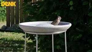 Vogeltränke Selber Machen : vogeltr nke als vogelbad f r den spatz denk keramik youtube ~ Yasmunasinghe.com Haus und Dekorationen