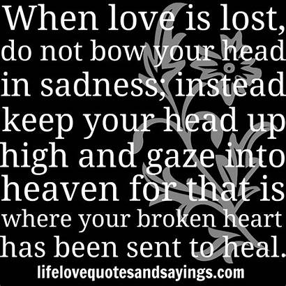 Quotes Broken Heart Healing Heaven Sent Inspirational
