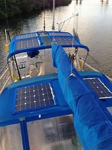 Put Flexible Solar Panels On Bimini Top     U0026quot How To