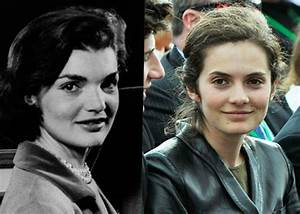 Jacqueline Bouvier Kennedy Onassis pictured next to ...