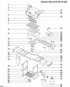 Weber Genesis E 310 Parts Diagram