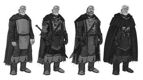 hallas concept characters art middle earth shadow